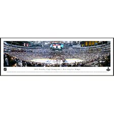<strong>Blakeway Worldwide Panoramas, Inc</strong> NHL 2012 Stanley Cup Champions - Los Angeles Kings Standard Frame Panorama