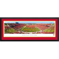 NCAA Iowa State University Deluxe Frame Panorama