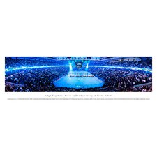 NCAA University of North Dakota - Hockey Anthem Unframed Panorama