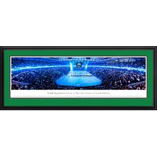 NCAA University of North Dakota - Hockey Anthem Deluxe Frame Panorama