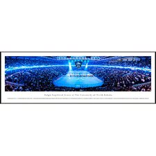 NCAA University of North Dakota - Hockey Anthem Standard Frame Panorama