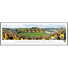 NCAA West Virginia University - Stripe Standard Frame Panorama
