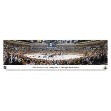 NHL 2013 Stanley Cup Champions - Chicago Blackhawks Photographic Print