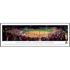 NCAA Baseball Standard Framed Photographic Print