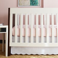 Baby Scallop 2 Piece Crib Bedding Set