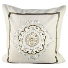Large Anai Suzani Pillow with Embroidery