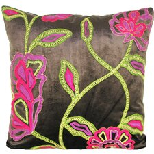 <strong>Design Accents LLC</strong> Cherry Blossom Velvet Pillow