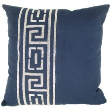 Beaded Key Jute Pillow