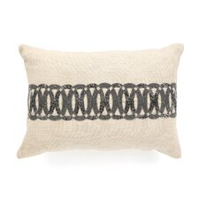 <strong>Design Accents LLC</strong> Beaded Scroll Jute Pillow
