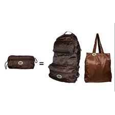 Backpacker2 Earth - Clutch Unfolds Into Full Size Backpack