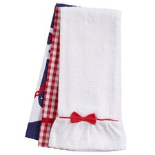 Anchors Away Towel Trio