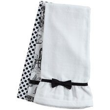 Cafe Toile Towel Trio