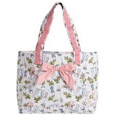 Paris Boutique Tote Bag with Bow