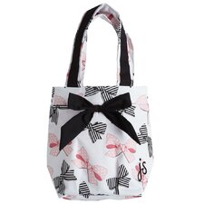 Bow Peep Lunch Tote Bag with Bow