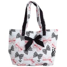 Bow Peep Tote Bag with Bow