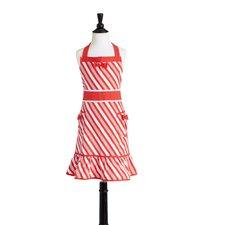 Candy Cane Stripe Children's Bib Doris Apron