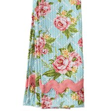 Cottage Kitchen Rose Waffle Ric Rac Towel (Set of 2)