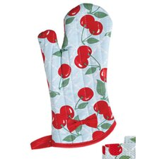 Kitchen Cherry Silicon Oven Mitt