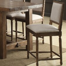 Bellevue Bar Stool with Cushion