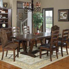 <strong>Emerald Home Furnishings</strong> Castlegate 7 Piece Dining Set