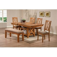<strong>Emerald Home Furnishings</strong> Patterson 6 Piece Dining Set