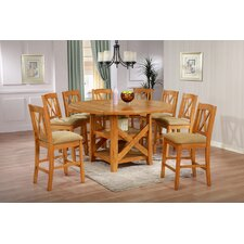 Patterson 9 Piece Counter Height Dining Set