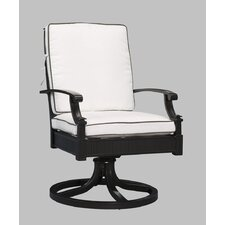 Arandel Swivel Rocking Dining Chair with Cushion