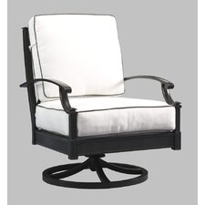 Arandel Swivel Rocking Lounge Chair with Cushions