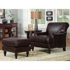 Norton Chair and Ottoman