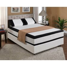 "<strong>Emerald Home Furnishings</strong> 12"" Cool Jewel Midnight Gel Memory Foam Mattress"