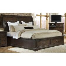 <strong>Emerald Home Furnishings</strong> Crystal Ridge Sleigh Bed