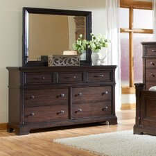 Crystal Ridge 7 Drawer Dresser
