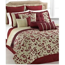 <strong>Phoenix Home Fashion</strong> Takara 10 Piece Comforter Set