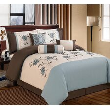 Linda 7 Piece Bedding Set