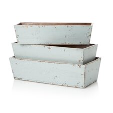 Rectangular Nesting Planters (Set of 3)