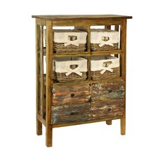 Rustic Valley Laundry Chest