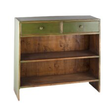 <strong>Antique Revival</strong> Caroline Display Shelf with Two Drawers