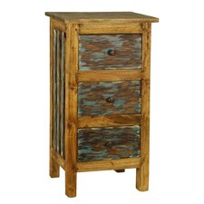 Rustic Valley 3 Drawer Chest