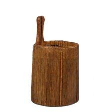 Wooden Vintage Ladle Bucket
