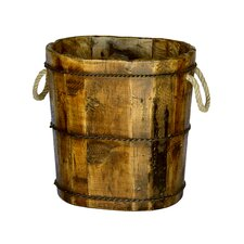 <strong>Antique Revival</strong> Altai Wooden Bucket