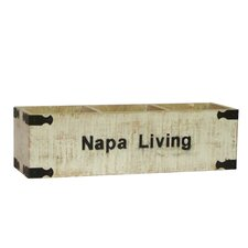 <strong>Antique Revival</strong> Napa Living Rectangular Planter