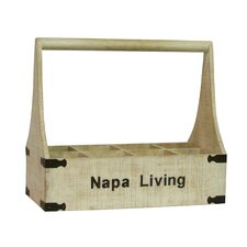 Napa Living 8 Bottle Wine Holder