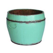 Vintage Wooden Kitchen Bucket
