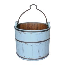 <strong>Antique Revival</strong> Vintage Iron Handle Water Bucket
