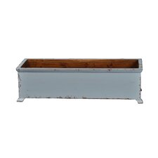 Large French Rectangular Planter with Wooden Legs