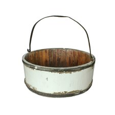 Vintage Wooden Wash Bucket
