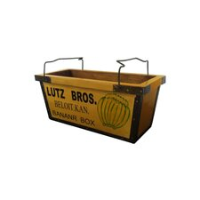 Wooden Banana Bucket