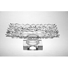 Glacier Design Crystal Footed Bowl