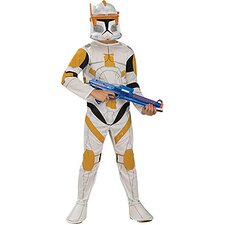 Star Wars Clone Wars Cone Trooper Commander Cody Child Costume