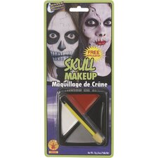 Fast Face Skull Make-up Kit